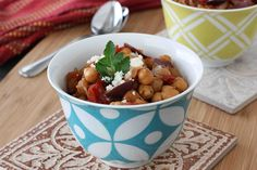 Crockpot Chickpea Stew with Balsamic Caramelized Onions by CookinCanuck