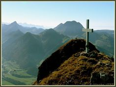 cross on hill Crosses, Scenery, Backgrounds, Faith, Mountains, Nature, Flowers, Photos, Travel