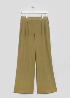 Wide Leg Trousers View 1