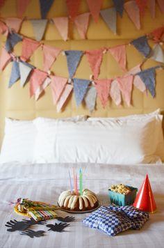 DIY hotel pajama party