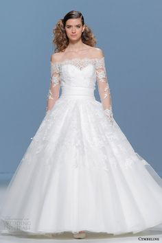 Cymbeline 2015 #Wedding Dresses | Wedding Inspirasi #weddingdress #weddings #bridal See more at: http://www.weddinginspirasi.com/2014/08/11/cymbeline-bridal-2015-wedding-dresses/