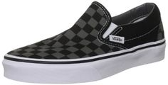 2f911a77a01d82 Black Friday Deal Vans Unisex Classic Slip-On (Checkerboard) Black Pewter  Checkerboard Skate Shoe Men US   11 Women US from Vans Cyber Monday