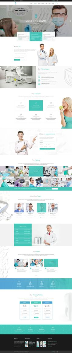 The 8 #Homepage.Creative #PSD #template