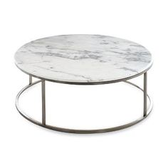 marble + retro + round now thats a coffee table i can do