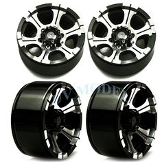 RC 1/10 Scale Truck Rims Wheel 1.9 Beadlock RC Rock Climb Crawler Metal Aluminum Wheel Rims For RC4WD SCX10 CC01