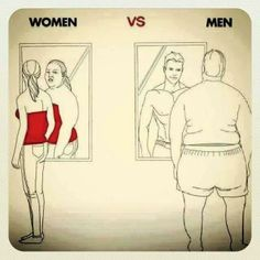 I know that women is true for me but I don't know about the men one. if it is true then this is kinda funny but also crazy haha Memes Humor, Funny Jokes, Hilarious, Funny Sayings, Funny Images, Funny Pictures, Pictures With Deep Meaning, Boys Vs Girls, Satirical Illustrations