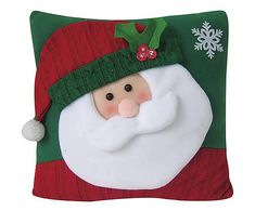 CURSO GRATIS DE NAVIADAD HACIENDO COJINES DE NAVIDAD!! #navidad  #molde  #muñeco #santa Christmas Placemats, Christmas Cushions, Christmas Sewing, Christmas Pillow, Christmas Love, Christmas Crafts, Christmas Decorations, Christmas Ornaments, Merry Stockings