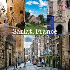 Today Stacey takes us to Sarlat, France. A stunning medieval town known for its gastronomical delights, pretty streets, markets and festivals. A stunning place to spend a few days when in France. Medieval Town, Group Travel, Travel Agency, Holiday Travel, Perth, Festivals, France, Street, Places