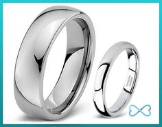 Tungsten Wedding Band,Wedding Band Set Matching,Tungsten Wedding Band Matching,His Hers Wedding Ring,5.5mm,4mm,Women,Mens,Male,Female,Couple