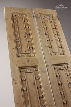 Reclaimed Decorative Stripped Cupboard Doors
