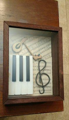 Piano shadow box 2