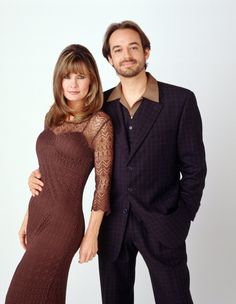 Kevin Collins (Jon Lindstrom), Ryan Chamberlain's identical twin, came to town and started seeing Lucy (Lynn Herring). - 1990s #GH #GH50