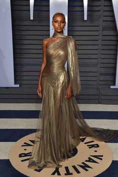 Jasmine Tookes   The Best Dresses at the Vanity Fair Oscars Afterparty