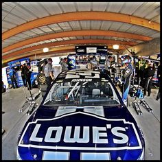 Photo by jimmiejohnson - photo taken in garage at Martinsville.  Great pic!