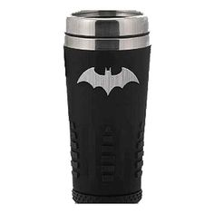 Batman Logo 16 oz. Travel Mug - Paladone Products - Batman - Mugs at Entertainment Earth