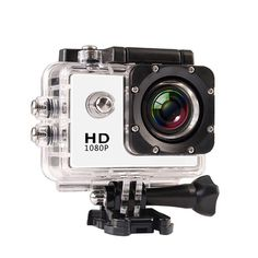 Limited Chance of Professional Wifi Full HD Digital Sports Camera Waterproof Helmet Video Camera With Water-resistant Casing Of. Action Sport, Helmet Camera, Full Hd 1080p, Waterproof Camera, Sports Camera, Mini Camera, Wide Angle Lens, Camcorder, Digital