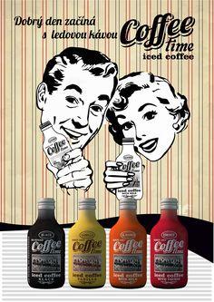 Dobrý den začíná sledovou kávou COFFEE time. iced coffee COFFEE time