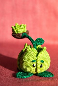 Plants Vs. Zombies crochet by Aradiya