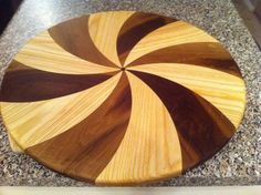 First spiral chopping block