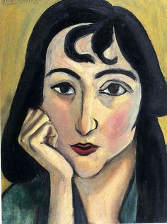 Head of Lorette with Curls - by Henri Matisse