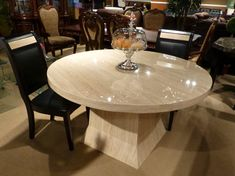 40 Awesome white round modern dining table images