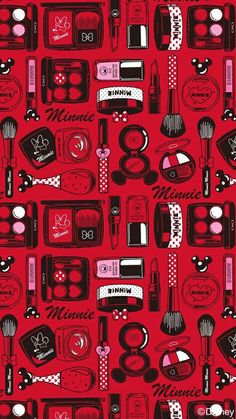 Image via We Heart It https://weheartit.com/entry/156733239/via/22479432 #disney #minnie #red #wallpaper