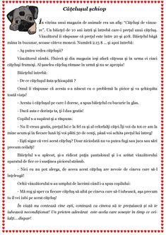 Texte despre toleranță. Scurte povestiri cu valoare educativă Preschool Worksheets, Preschool Activities, Visual Perceptual Activities, Romanian Language, Tracing Worksheets, School Lessons, Working Moms, Kids Education, Pre School
