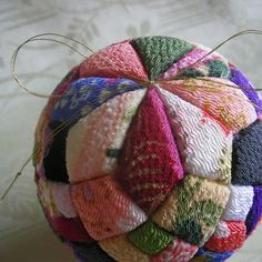 photo of Kimekomi ball