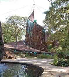 Bruce Goff design - Bavinger House, Norman, OK