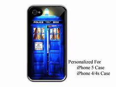 iPhone 4/4s Case  Tardis Door Doctor Who  iPhone 4 by NiceFaceShop, $15.00