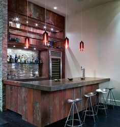 50 Man Cave Bar Ideas To Slake Your Thirst - Manly Home Bars Diy Cozinha, Home Bar Essentials, Basement Bar Designs, Basement Ideas, Basement Bars, Basement Makeover, Basement Ceilings, Basement Laundry, Basement Renovations