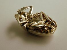 Amazing Detail of 3D Printed Silver Scarab Pendant - Shapeways Blog on 3D Printing News & Innovation
