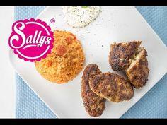 Bifteki - griechische Frikadellen mit Schafskäse und Tzaziki - YouTube