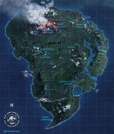 Fallen Kingdom Map