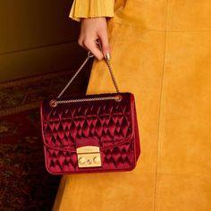 Furla, Quilt Patterns, Chanel, Velvet, Shoulder Bag, Bags, Collection, Instagram, Style
