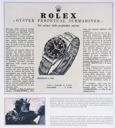 Rolex Submariner 5508 (1959) | Horlogerie Exquise