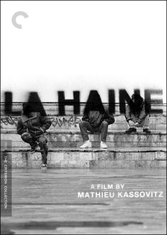 """La Haine"" by Mathieu Kassovitz, released by The Criterion Collection."