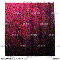 Pixel Glitch Red
