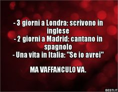 Funny Quotes, Funny Memes, Jokes, Italian Humor, Lol, Funny Pins, Really Funny, Sentences, Positivity