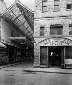 Howey Place and Coles Book Arcade Toy Department, Lt. Collins St., #Melbourne
