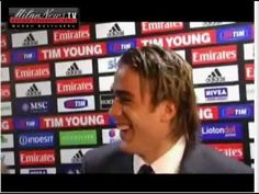 "2012. Allegri (Milan's Coach) says ""Fuck you"" to Alessandro Matri (Juventus) while he's doing a post game interview."