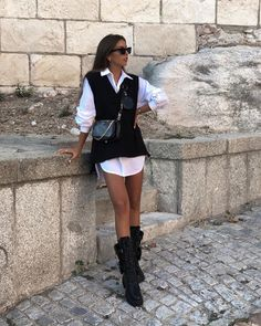 Boujee Outfits, Spring Fashion Outfits, Cute Swag Outfits, Casual Winter Outfits, Pretty Outfits, Camisa Oversized, Next Clothes, Korean Street Fashion, Types Of Fashion Styles