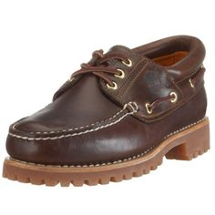 Timberland Men's Classic 3 Eye Lug Boat Shoe,Brown,12 M US Men's Shoes * More info could be found at the image url.