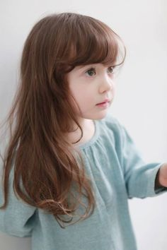 Little Girl Haircuts With Bangs 2020 Little Girl Haircuts, Baby Girl Hairstyles, Haircuts With Bangs, Korean Hairstyles, Cute Kids Photography, Baby Girl Photography, Cute Young Girl, Cute Little Girls, Baby Girls