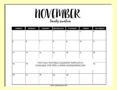 Free Printable: Fully Editable 2017 Calendar Templates In Word Format  Microsoft Word Templates Calendar