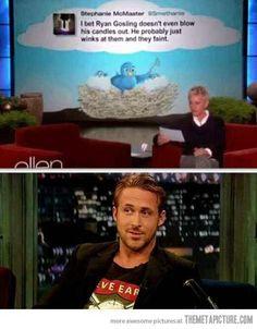 Oh that Ryan Gosling