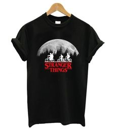 Do You Looking for Comfort Clothes? Stranger Things Bike Rides fashionable T shirt is Made To Order, one by one printed so we can control the quality. Stranger Things Shirt, Marvel Clothes, Pant Shirt, Movie T Shirts, Cosplay Outfits, Graphic Shirts, Tee Design, Comfortable Outfits, Direct To Garment Printer