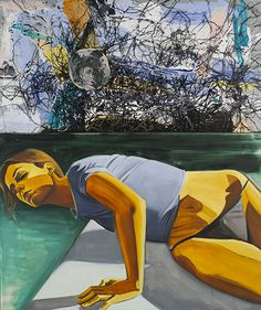 David Salle | Spinning, Tango, Out, 2013
