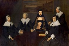The regentesses of the Old Men's Home in Haarlem