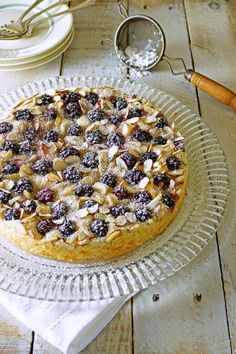 Blackberry Almond Buttermilk Cake by @Patty Price / Patty's Food